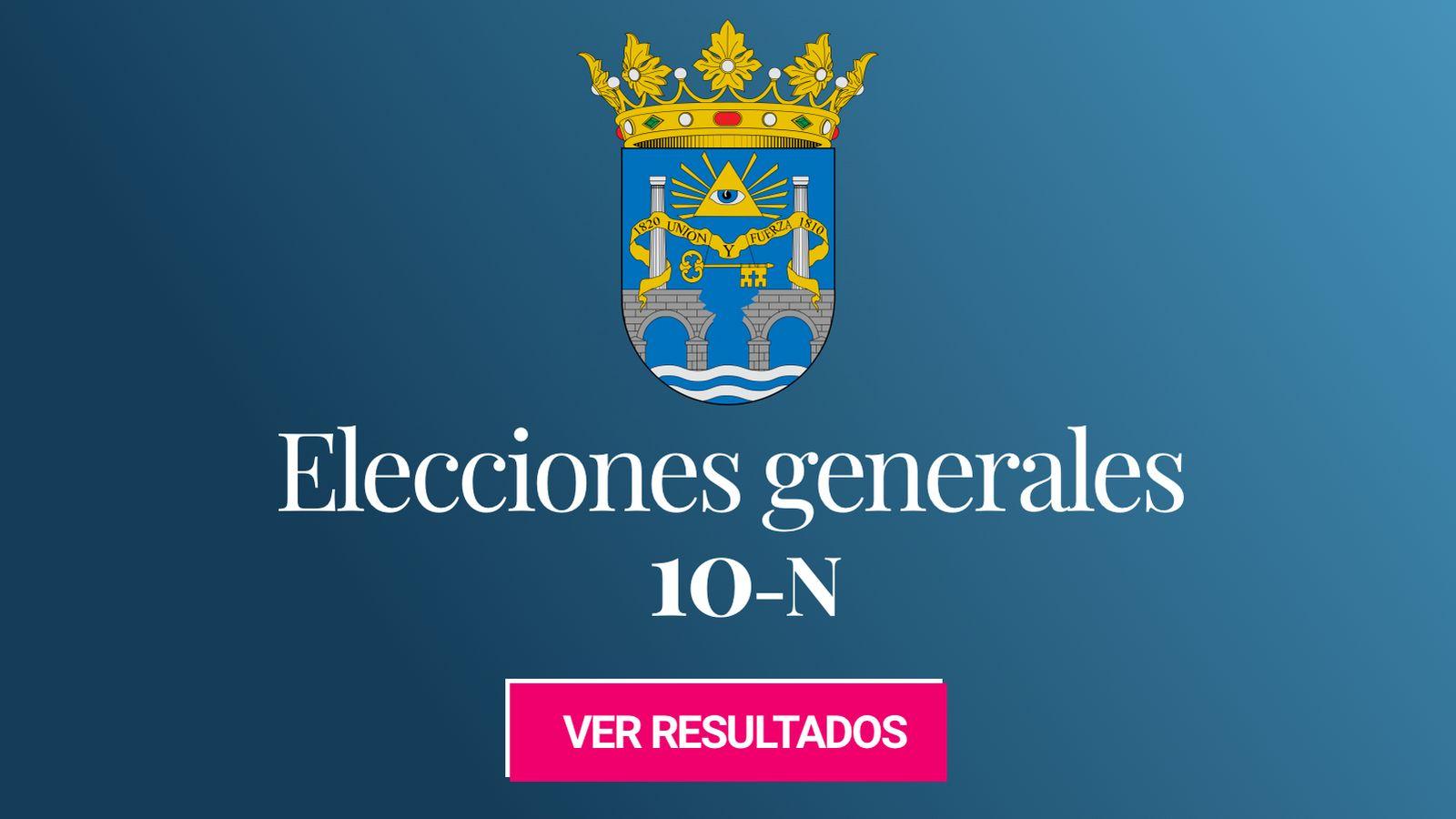 Foto: Elecciones generales 2019 en San Fernando. (C.C./EC)