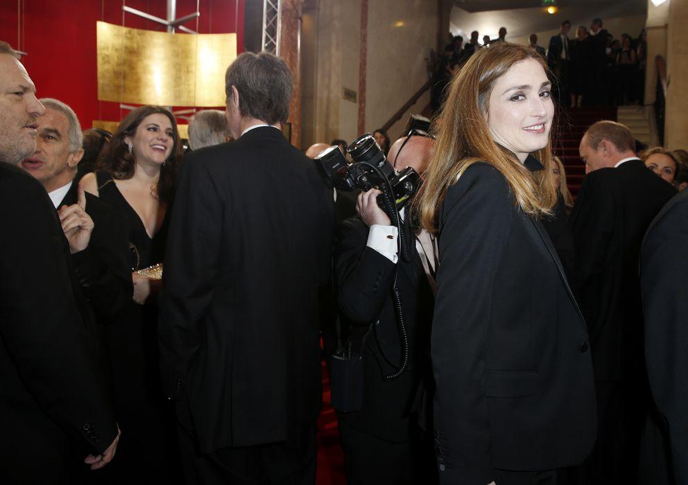 Foto: La actriz, durante su aparición en los Premios César (I. C)