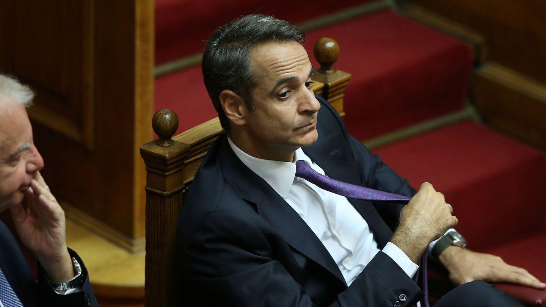 Mitsotakis, primer ministro griego. (Reuters)