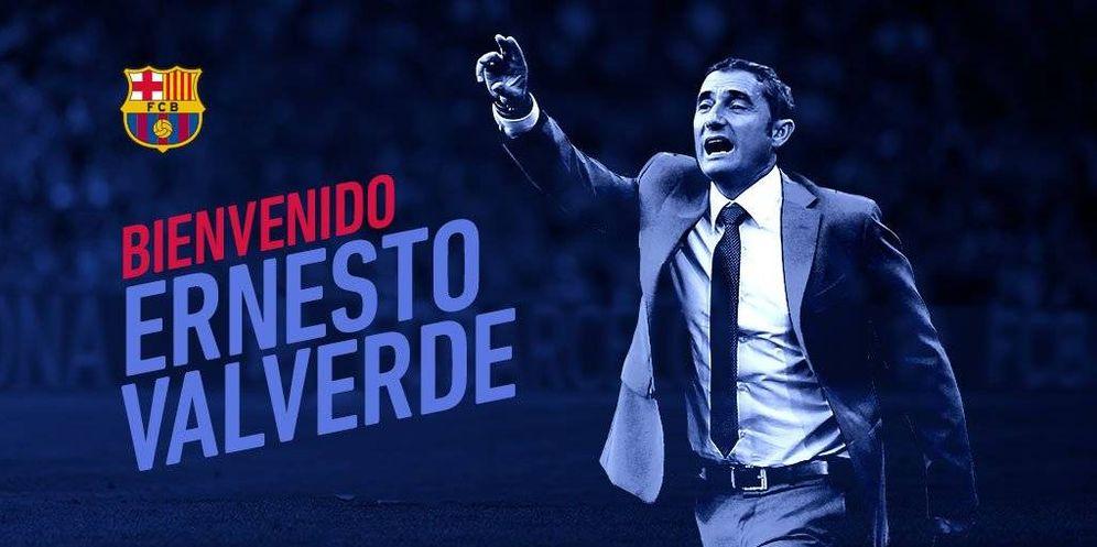 Foto: Ernesto Valverde es el elegido para sustituir a Luis Enrique. (FCBarcelona)