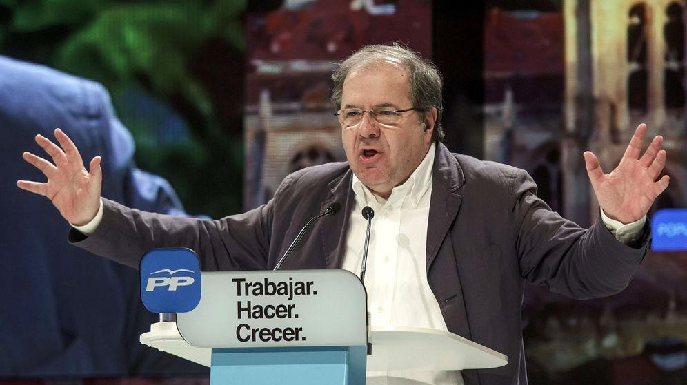 Foto: El candidato del PP a la reelección de la Presidencia de la Junta de Castilla y León, Juan Vicente Herrera. (Efe)