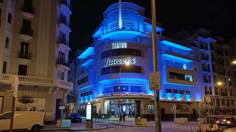 Fachada del Teatro Barceló. (EFE)