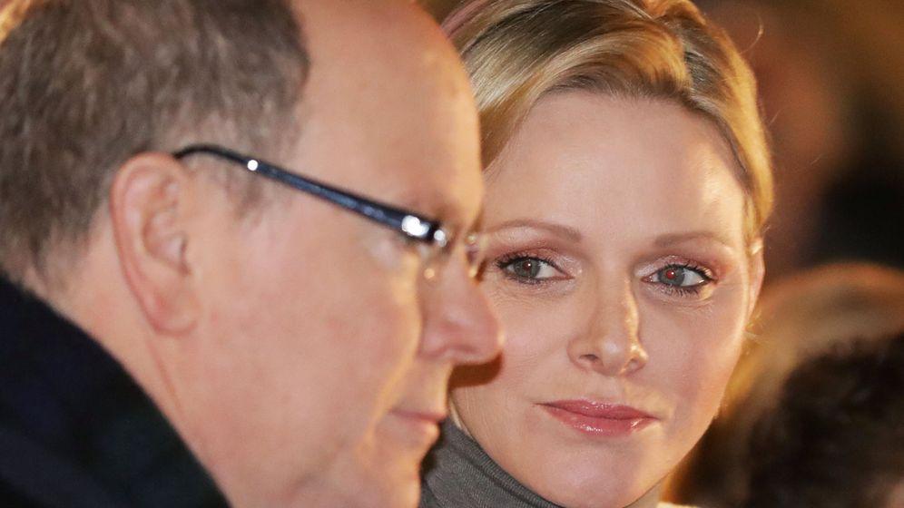 Foto: Charlène y Alberto de Mónaco en una imagen de archivo. (Reuters)