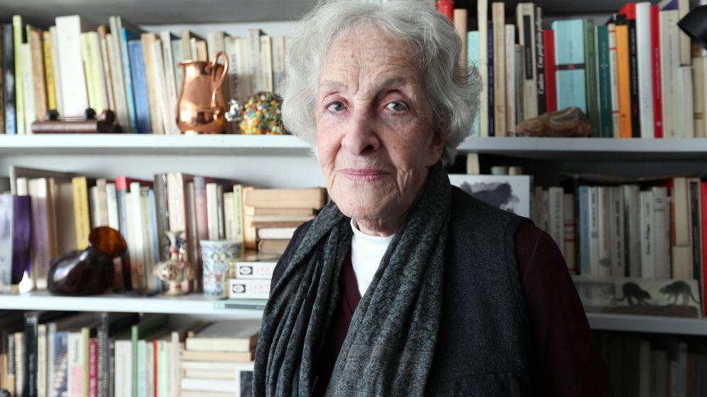 Foto: Ida Vitale, último premio Cervantes (EFE)