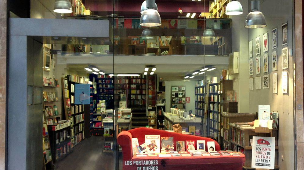 Foto: Imagen de la librería Los Portadores de Sueños, en Zaragoza