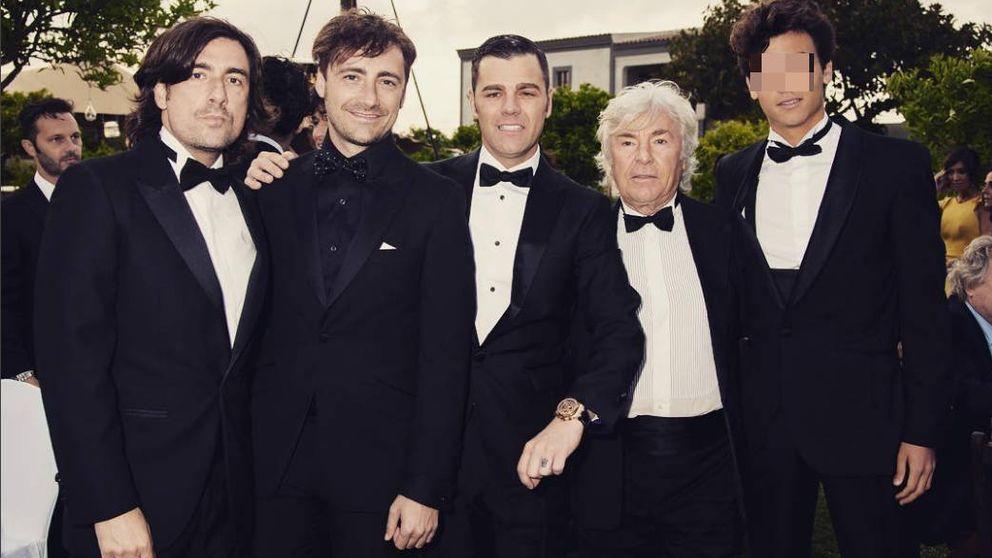 Así son Gelete, Pablo, Hugo y Fonsi, los 'cuatro' hijos de Ángel Nieto
