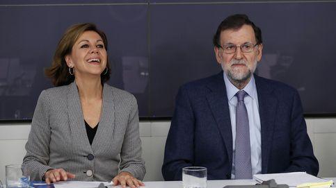 Rajoy exalta la unidad del PP en medio de la crisis del PSOE... y de Bárcenas
