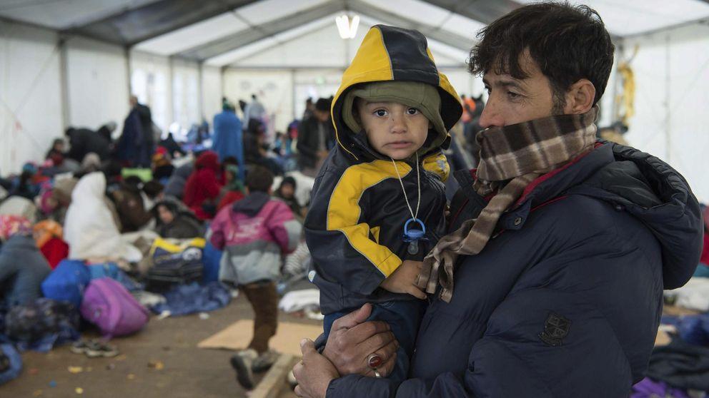 Más de 218.000 refugiados llegaron en octubre, tantos como en  todo 2014