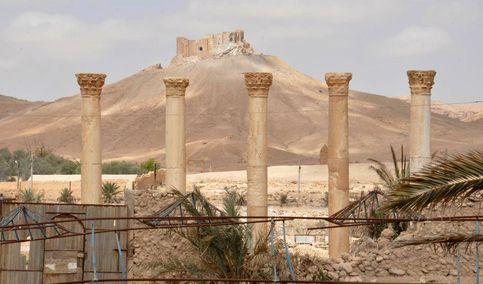 Así ha quedado la histórica ciudad de Palmira tras los bombardeos
