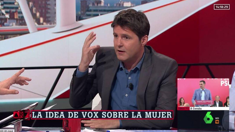 Jesús Cintora, tajante con Vox por sus palabras sobre el aborto