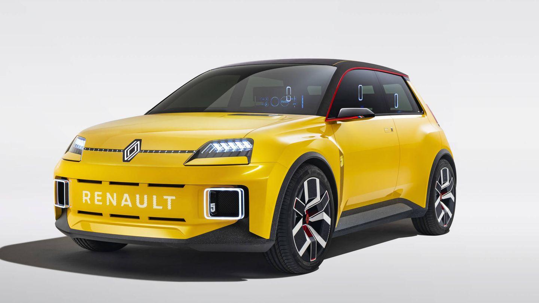 Renault 5 Prototype, una imagen del futuro de la marca Renault.