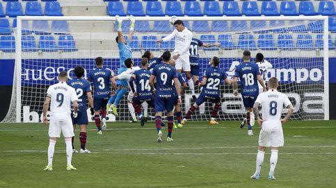 Un ataque anémico: la falta de gol estrangula el potencial ganador del Real Madrid