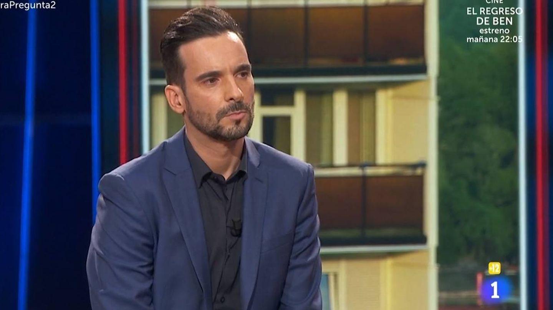 Lluís Guilera, en  'La Pr1mera pregunta'. (TVE).