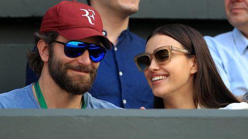 Bradley Cooper e Irina Shayk, amor en las gradas de Wimbledon