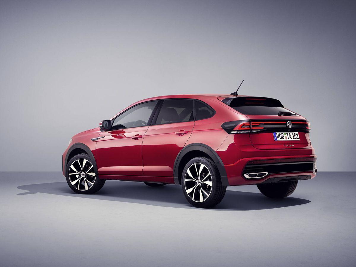 Foto: Aunque la longitud del Volkswagen Taigo coincide casi con la del T-Roc, en realidad comparte plataforma con el T-Cross.