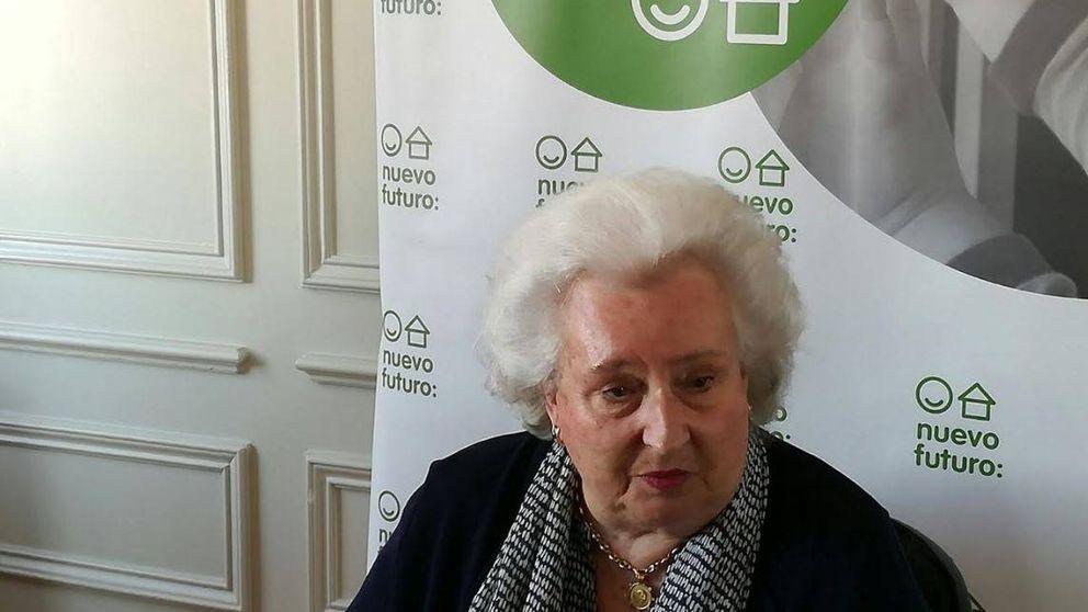 La infanta doña Pilar inaugura el Rastrillo: Espero que la reina Letizia venga esta vez