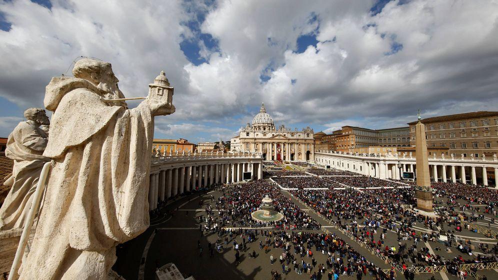 Foto: La Plaza de San Pedro, en el Vaticano. (Reuters)