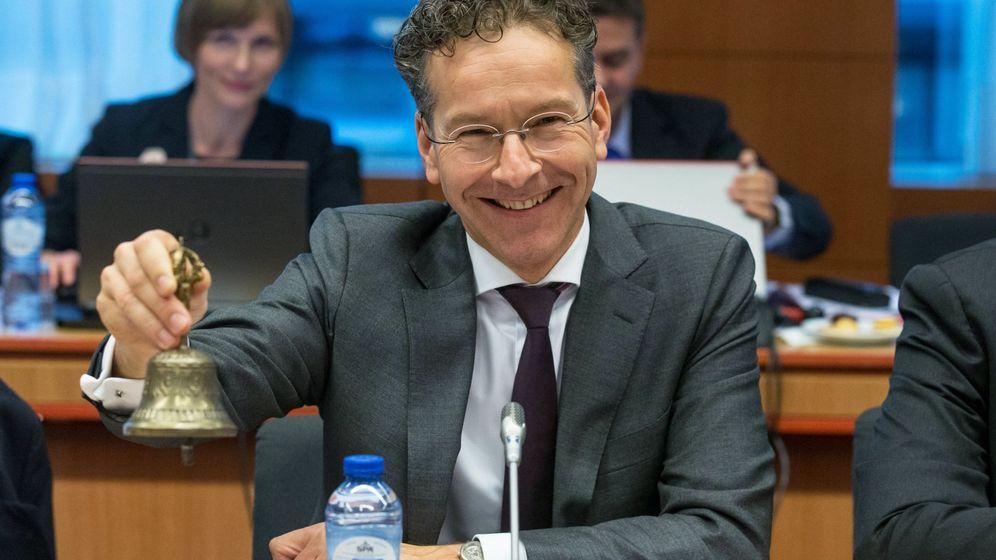 Foto: El presidente del Eurogrupo, Jeroen Dijsselbloem. (EFE)