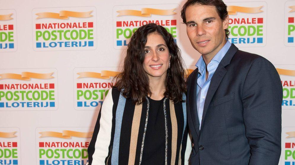 Foto: Mery Perelló y Rafa Nadal, en una gala solidaria en Ámsterdam. (Cordon Press)