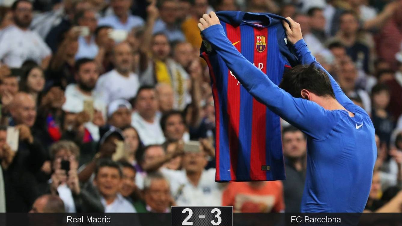 El Barça anima la Liga porque a Messi le dio la gana de destrozar al Real Madrid