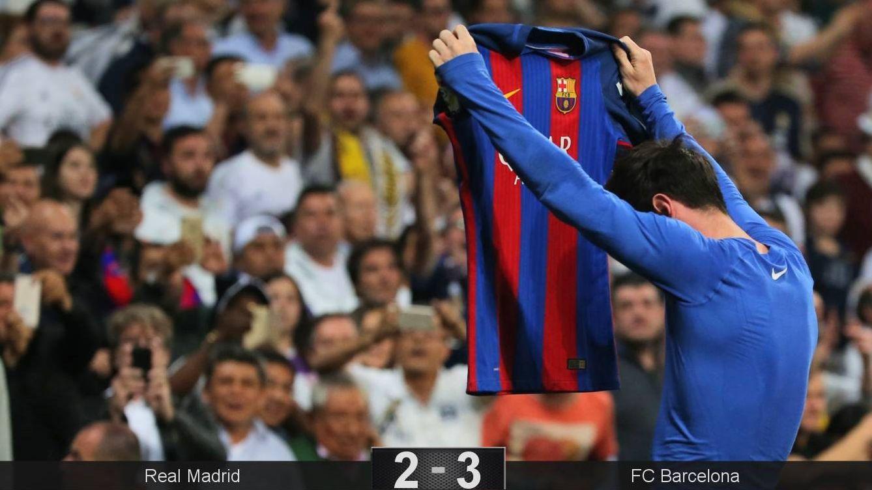 Foto: Otro partido inolvidable de Leo Messi. (Reuters)