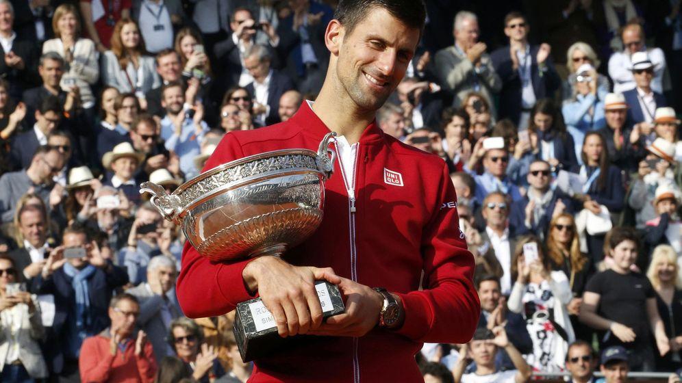 Foto: Novak Djokovic ya ha ganado los cuatro grandes (Jacky Naegelen/Reuters)