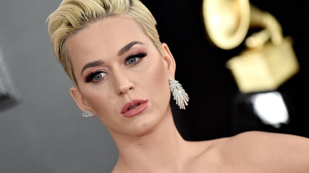 Foto: Katy Perry en los premios Grammy. (Getty)