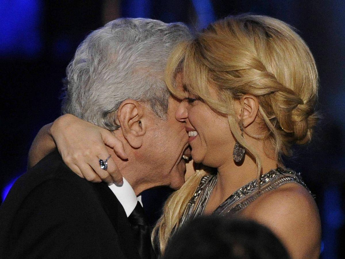 Foto: Shakira y su padre. (EFE)