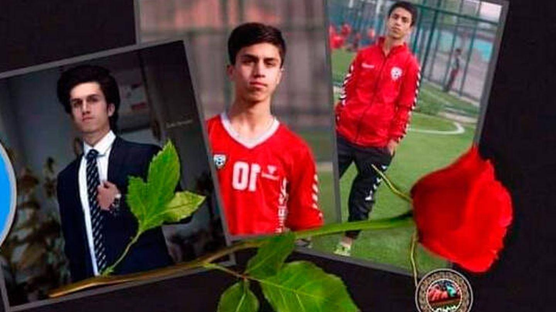 Zaki Anwari tenía 17 años y era una promesa del fútbol afgano. (Dirección General de Educación Física y Deportes de Afganistán)