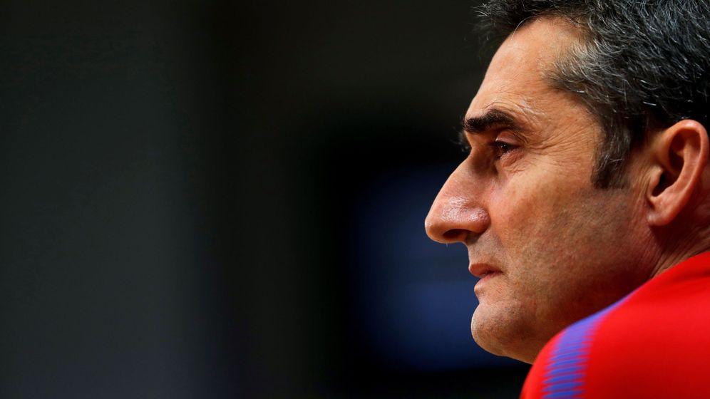 Foto: En 2014, Ernesto Valverde rechazó la oferta del Barcelona porque había dado su palabra al Athletic. (EFE)
