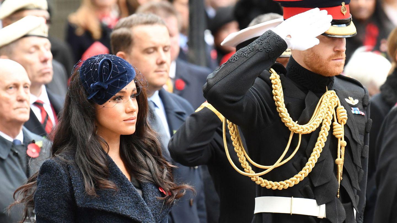 Meghan y Harry, en una imagen reciente. (Reuters)