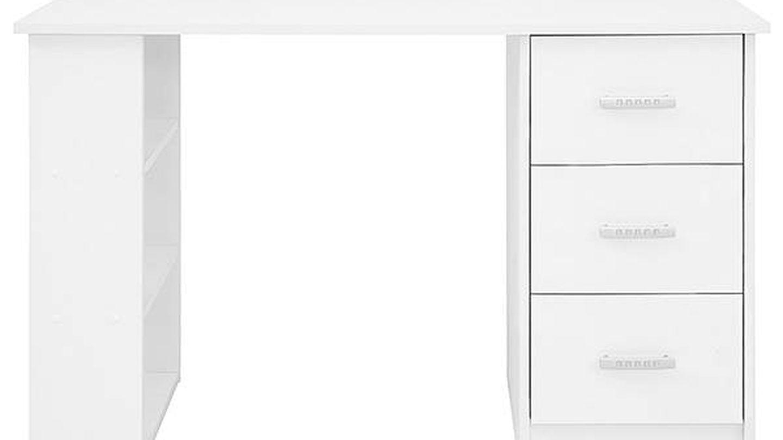 Alternativa: Escritorio con cajones y estantes Comifort T048