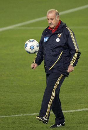 Del Bosque hará esperar a los novatos contra Chile