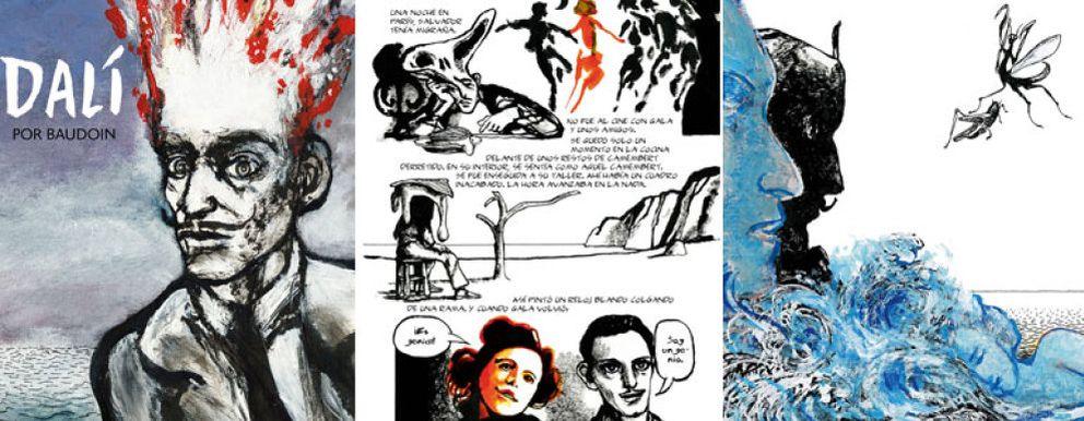 Foto: Salvador Dalí da el salto al mundo del cómic