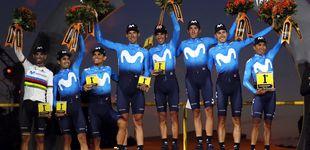 Post de Las sombras de Movistar: por qué el mejor equipo del Tour pecó de individualismo