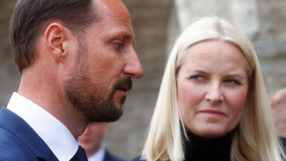 Foto: Haakon y Mette-Marit en una imagen de archivo. (Reuters)