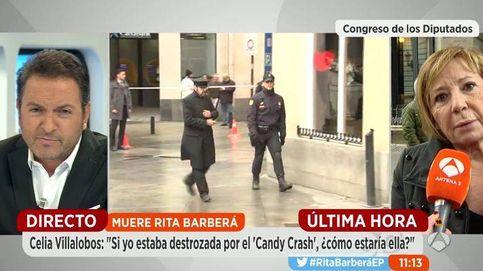Encontronazo entre Albert Castillón y Celia Villalobos en 'Espejo público'