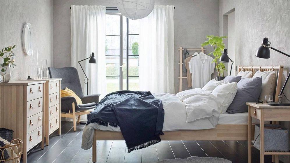 Foto: Soluciones de almacenaje para dormitorios pequeños en Ikea y Leroy Merlin. (Cortesía Ikea)