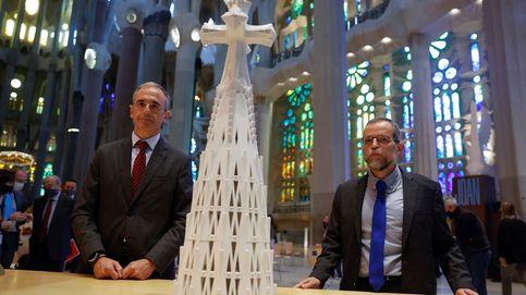 El punto más alto de la Sagrada Familia será una 'grandiosa cruz': la primera torre que se termina en 44 años