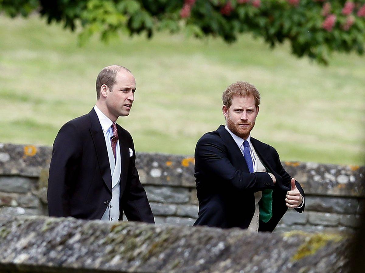 Foto: Guillermo y Harry en una imagen de archivo.(Getty)