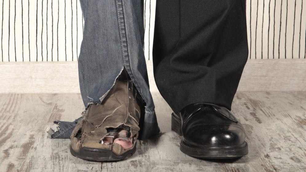 Foto: La desigualdad entre españoles ricos y pobres aumentó durante la crisis. (iStock)