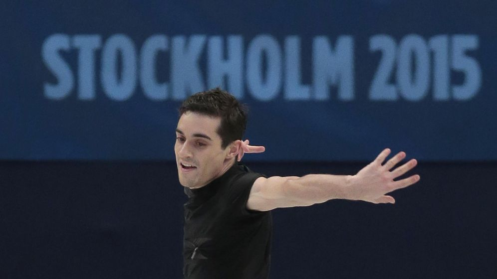 Foto: Javier Fernández es el gran favorito para lograr el título en Estocolmo (Gtres).