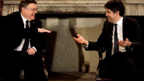 Compromís y Podemos dejan solo a Puig en la entrega de un premio a S. C. Catalana