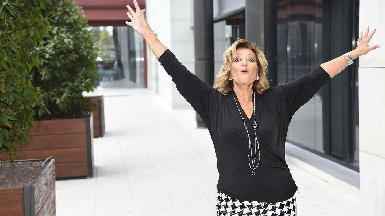 La presentadora María Teresa Campos en una imagen de archivo. (Gtres)