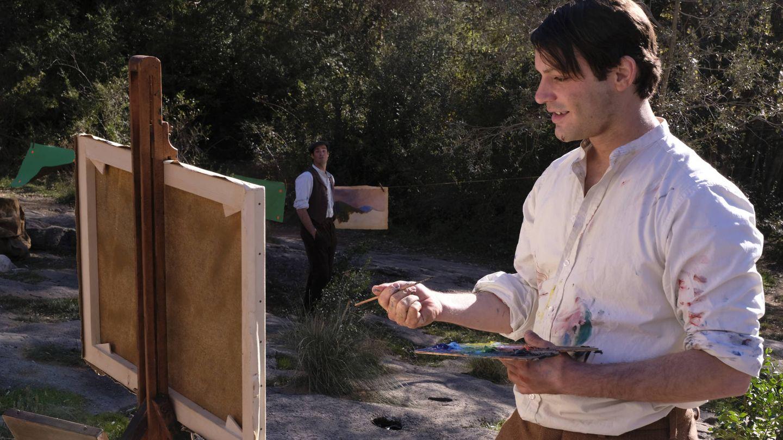 Alex Rich interpretando al joven Picasso en un momento de la serie.