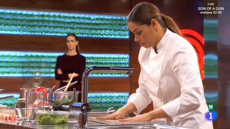 La chef acudió como invitada a la final del programa.