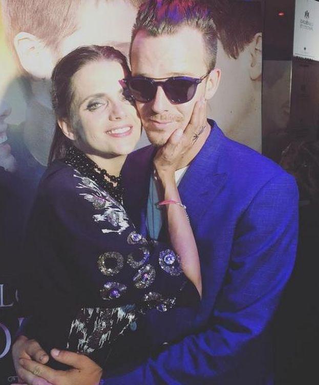 Foto: Aldo Comas junto a su mujer, Macarena Gómez (Instagram)