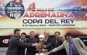 Madrid-Herbalife y Barça-Tenerife, duelos en la Copa de baloncesto