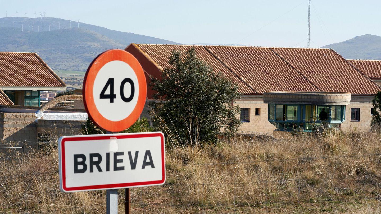 Vista del exterior de la cárcel de Brieva. (EFE)