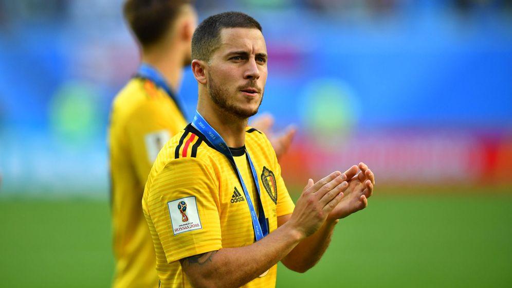 Foto: Hazard, con Bélgica. (EFE)
